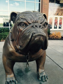 Spike the Bulldog - Gonzaga University